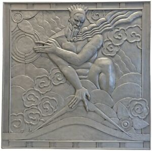 Important Art Deco Catalogs Of Estate Sale Relief Panels Rockerfeller Center