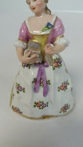 Antique Vincent Dubois French Porcelain Figurine
