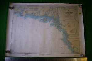 Canada Georgian Bay Alexander Beaverstone 46x33 Vintage 1987 Nautical Chart Map