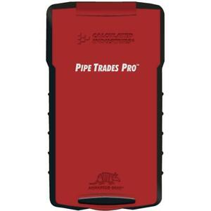 Pipe Trades Pro Calculator Advanced Math Calculated Industries Construction