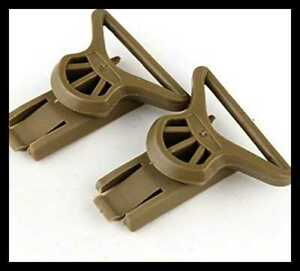 Swivel Goggle Clip For ARC Rail Equipped ACHMICHBump Helmet FREE SHIPPING