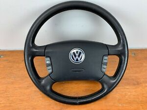 Vw Mk4 Jetta Gti 4 Spoke Steering Wheel W Multi Function Buttons And Airbag