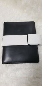 Franklin Covey Compact Full Grain Leather Binder Planner Agenda