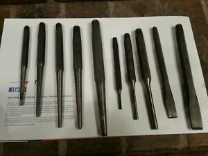 Snap On Tools Usa 10pc Punch And Chisel Set