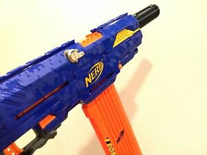 Tactical Silencer Barrel Twist On Ext Attachment For Nerf Stryfe Modulus More $10.99
