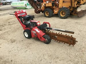 Barreto Mn 1324 st Walk Behind Trencher 13 Hp Gas Powered