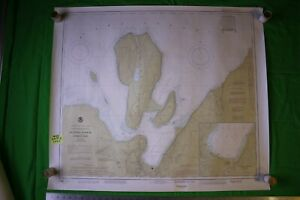 Lake Superior Michigan Munising Harbor 36 5x30 5 Vintage 1985 Nautical Chart Map