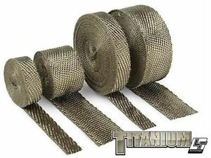 Dei 2 Inch X 100 Ft Roll Titanium Fiberglass Header Exhaust Heat Wrap High Temp