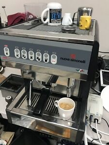 Very Clean Nuova Simonelli Espresso Machine Mac 2000 V Model 110v Plug Ready