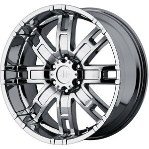20x9 Chrome Helo He835 Wheels 8x6 5 18 Dodge Ram 2500 Ram 3500 Ram 1500 8lug