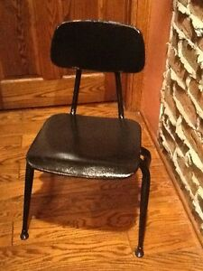 Lot Of 10 Vintage Irwin Co Old School All Metal Children S Chairs Very Good