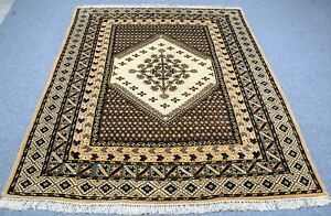 Vintage Persian Malayaar Yalameh 7 X9 Hand Knotted 100 Wool Rug Gm 675