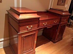 French Antique Empire Style Sideboard Cabinet Buffet Commode Credenza Pro Restor