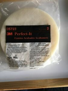 3m 05723 Perfect It Single Sided Foam Compounding Pad 8 Inch 2 Pads Per Bag