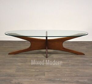 Adrian Pearsall Style Coffee Table Mid Century Modern