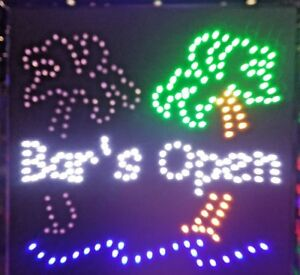 Bar s Open Neon Led Sign smoke Shop Sign store Sign business window Sign 20 X 20