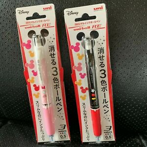 Mitsubishi Pencil Can Be Erased 3 Colors Gel Ink Ballpoint Pen F s Japan
