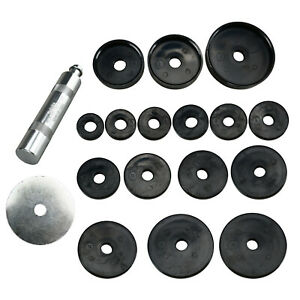 18pcs Bearing Race And Seal Installer Set Plastic Plates Aluminum Seal Driver