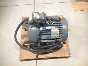 7 5 3525 Rpm 3 Phase 230 460 Volt 213tz Frame Baldor Electric Motor New Rebuilt