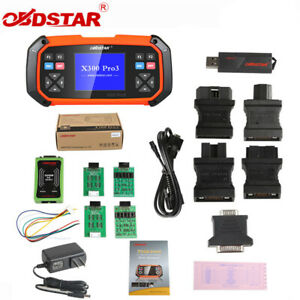 Obdstar X300 Pro3 Key Master Full Package For Toyota G H Chip All Keys Lost