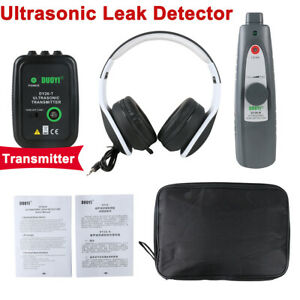 Ultrasonic Leak Detector Transmitter Air Water Fluid Pressure Vaccum Leak Tester