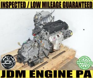 1997 2001 Honda Cr V B20b Engine With Automatic Transmission Awd B20z