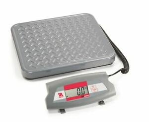 Ohaus Sd75 Compact Bench Scale Capacity 75kg 165lb Readability 50g 0 1lb