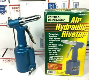 Central Pneumatic Air Hydraulic Riveter