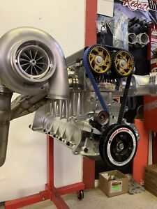2jz Billet 3000 Hp Drag Race Engine Complete Toyota Supra 3 0 3 2 3 4 Turbo