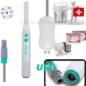 2019 Dental Lab Intraoral Intra Oral Camera W 6 Led Lamps Light Sony Ccd Usb