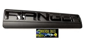 Ranger Ford Truck Emblem Badge Nameplate Tailgate Rear 2005 2011 Black New
