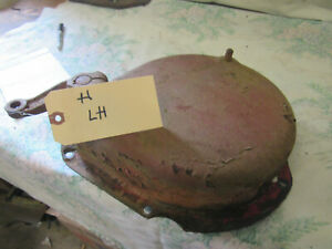 Farmall H Left Brake Cover With Band Antique Tractor
