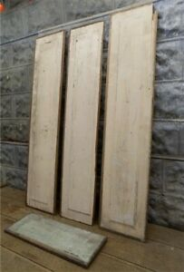 Wood Door Panels Vintage Architectural Salvage Farmhouse Decor Vintage Panels