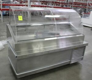 Traulsen Td078ht zsc01 Stainless Steel 78 Deli Case With Casters