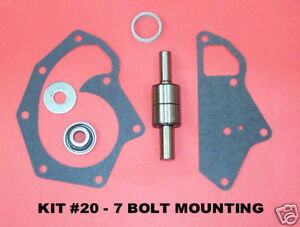 John Deere Diesel Water Pump Repair Kit 7 Bolt Mounting Kit 20 New