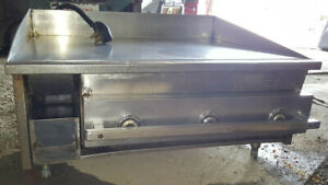 Keating Miraclean Electric Flat Top Griddle 36 Commercial Restaurant Grill