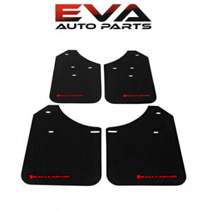 Rally Armor Mud Flap Red Logo For 02 07 Subaru Impreza Wrx Sti Mf1 Bas Rd
