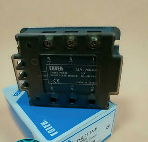 1pc New Fotek Solid State Relay Tsr 75da h Scr Module