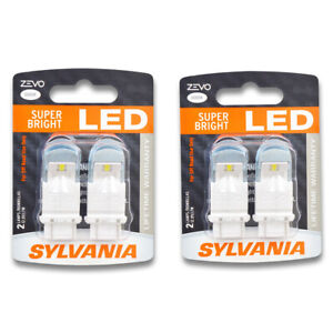 Sylvania Zevo Two 2 Packs 3156led Led Bulb Back Up Cornering Daytime Ul