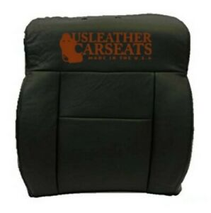 2007 2008 Ford F 150 Fx4 4x4 Driver Lean Back Leather Seat Cover Ebony Black