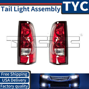 Tyc 2x Left Right Tail Light Assembly For 2004 2006 Chevrolet Silverado 1500