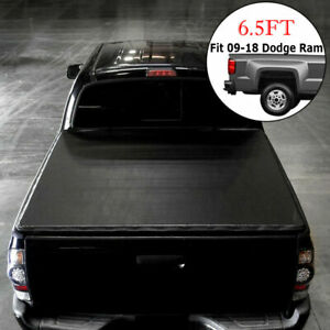 For 2009 2018 Dodge Ram 1500 2500 3500 6 5 Bed Tri fold Us Tonneau Cover