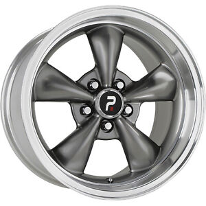18x10 Gray Wheel Oe Performance 106 Mustang Bullet Replica 5x4 5