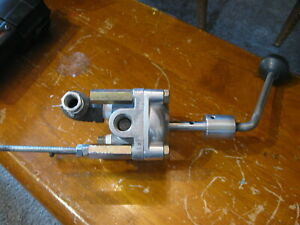 Barksdale Manual Pressure Valve Switch Lever 2 Cylinder 1 cyl 2 cyl Exh Imp