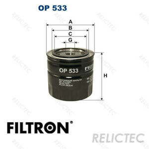 Oil Filter For Ford Morris Mg Talbot Gaz Panther Saab Reliant Wolseley Toyota