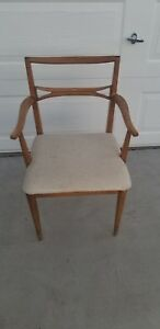 Mid Century 50s Mccobb Heywood Wakefield Style Dogbone Desk Dining Sitting Chair