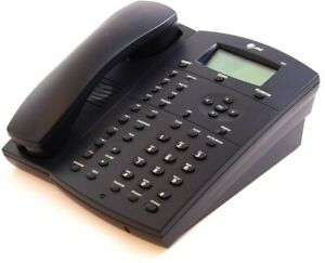 At t Black 4 Line Analog Display Speakerphone 955