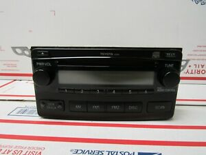 2004 2005 2006 2007 2008 Toyota Matrix Radio Cd Player Oem