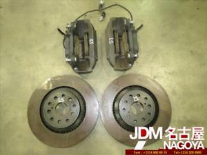 Jdm 2008 2013 Lexus Ls600h Front Factory Oem Brake Calipers Disks Rotors