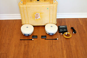 Trimble Dual R6 Model 2 Gps Gnss Glonass Rtk Survey Receiver Setup